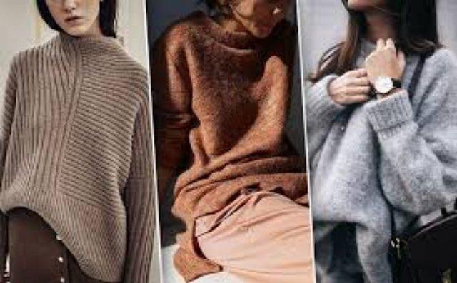 Несколько разных способов носить свитер