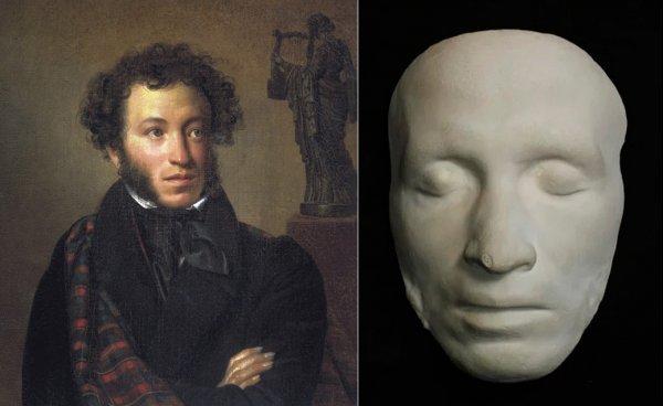 Житель Петербурга выставил на торги посмертную маску Пушкина