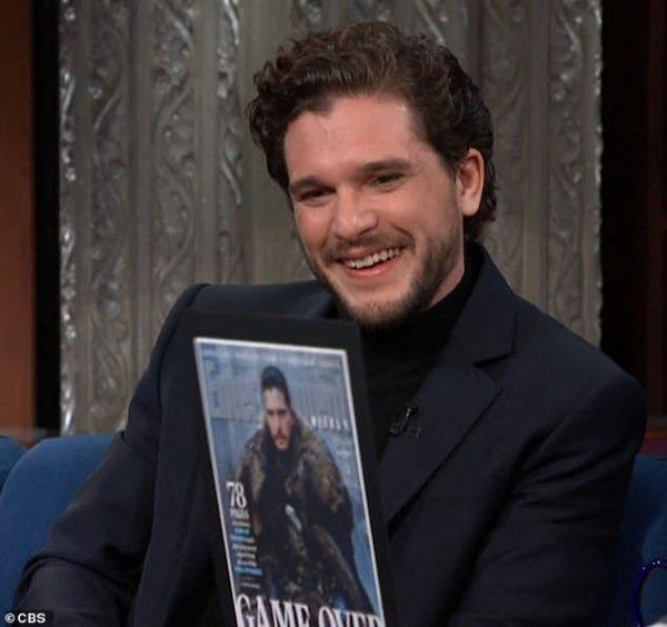Кит Харингтон заплакал, когда прочитал финальный сценарий «Игры престолов»